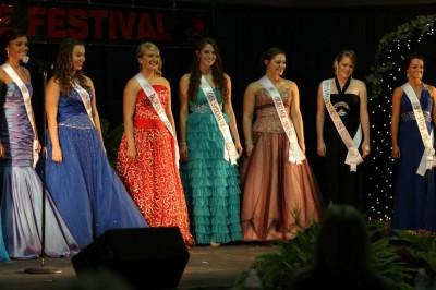 Miss Apple Blossom 2012 Contestants